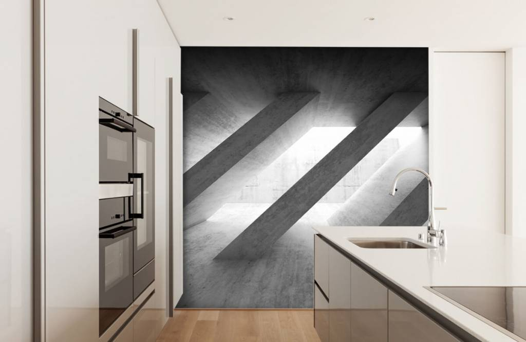 Other Textures & Surfaces - Concrete pillars in 3D - Bedroom 4