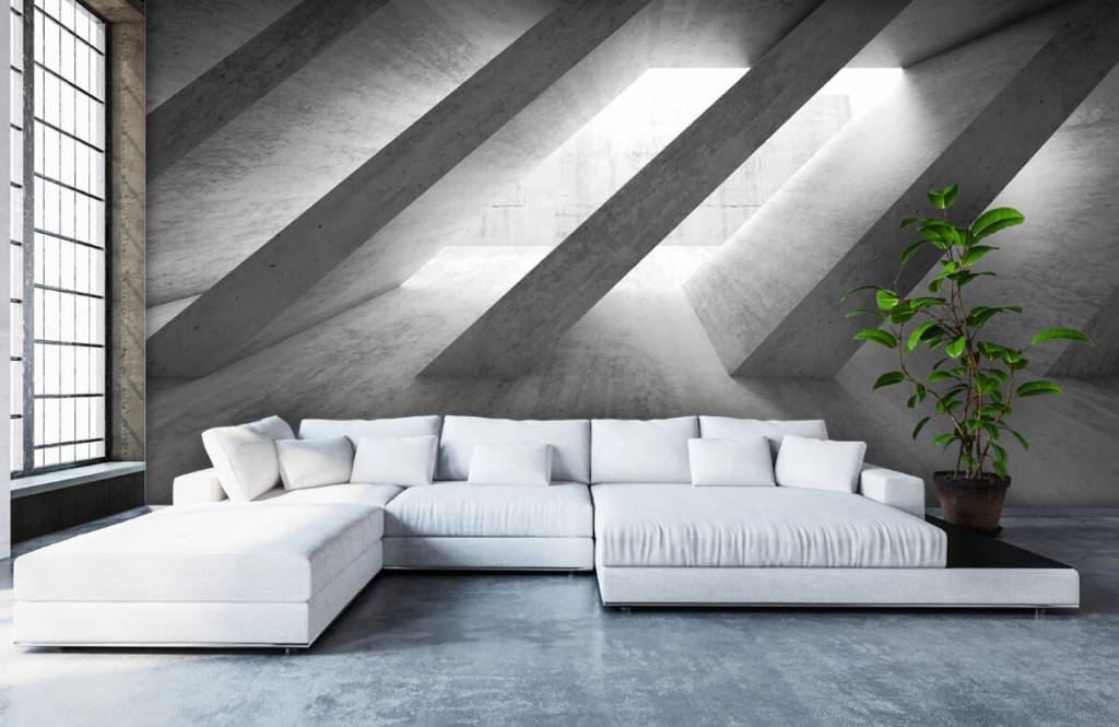 Other Textures & Surfaces - Concrete pillars in 3D - Bedroom 6