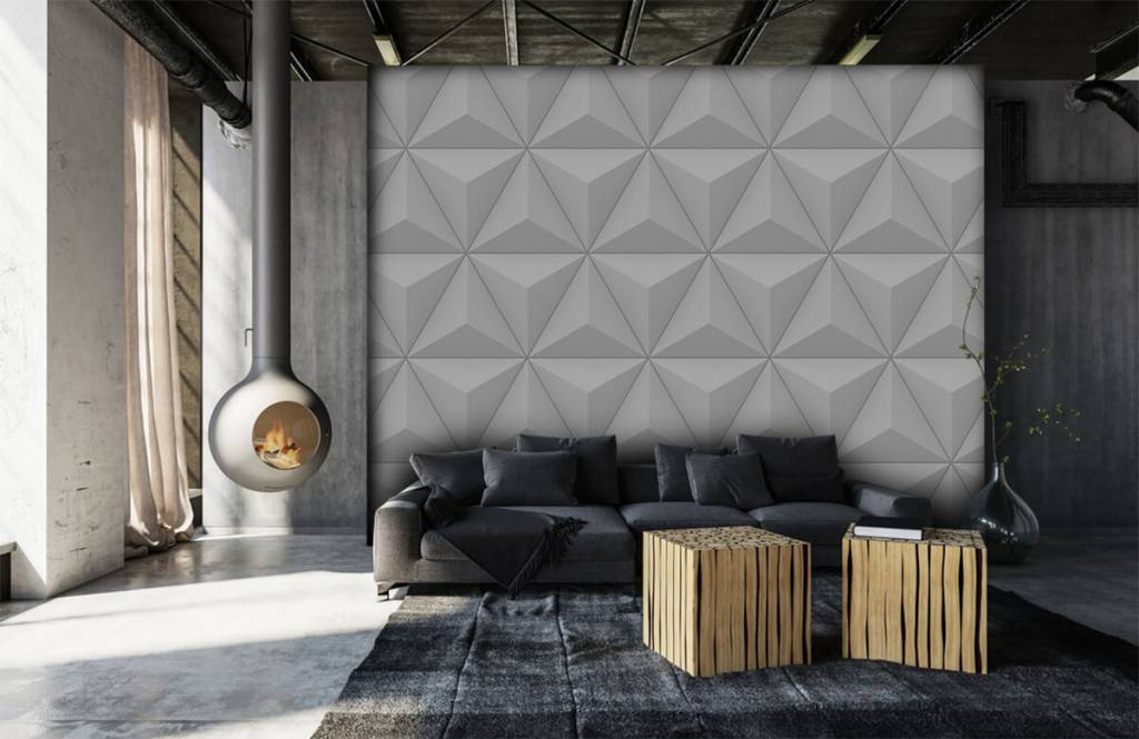 Other Textures & Surfaces - Triangles in 3D - Conference room 6