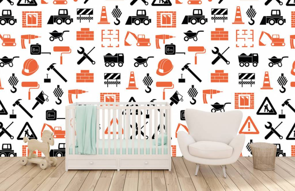 Other - Construction vehicles and building materials - Children's room 5