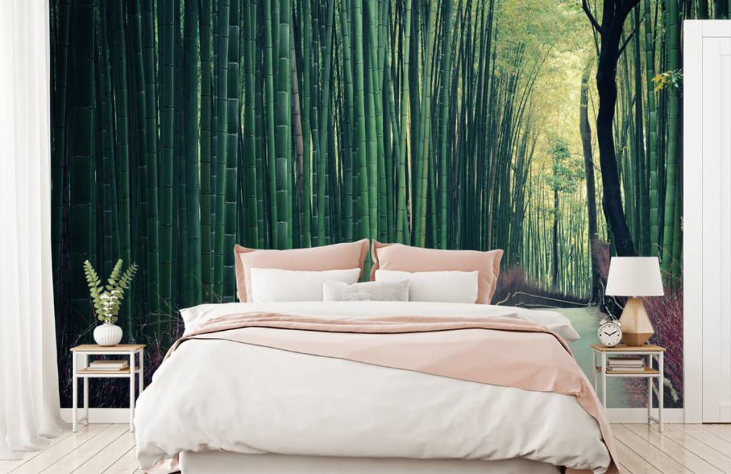 Forest wallpaper - Bamboo forest - Entrance 1