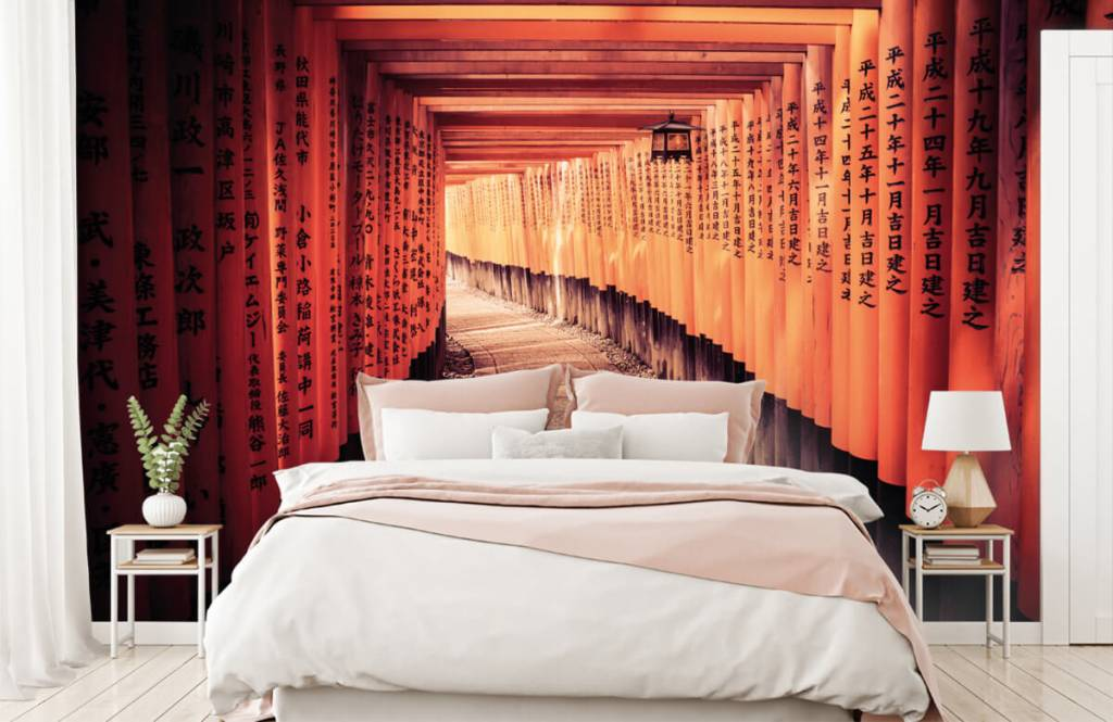 Cities wallpaper - Chinese tunnel - Bedroom 3