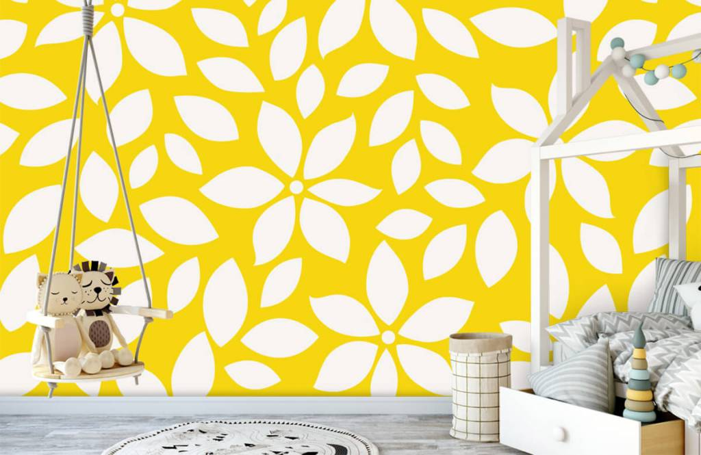 Other - Yellow flower pattern - Baby room 1