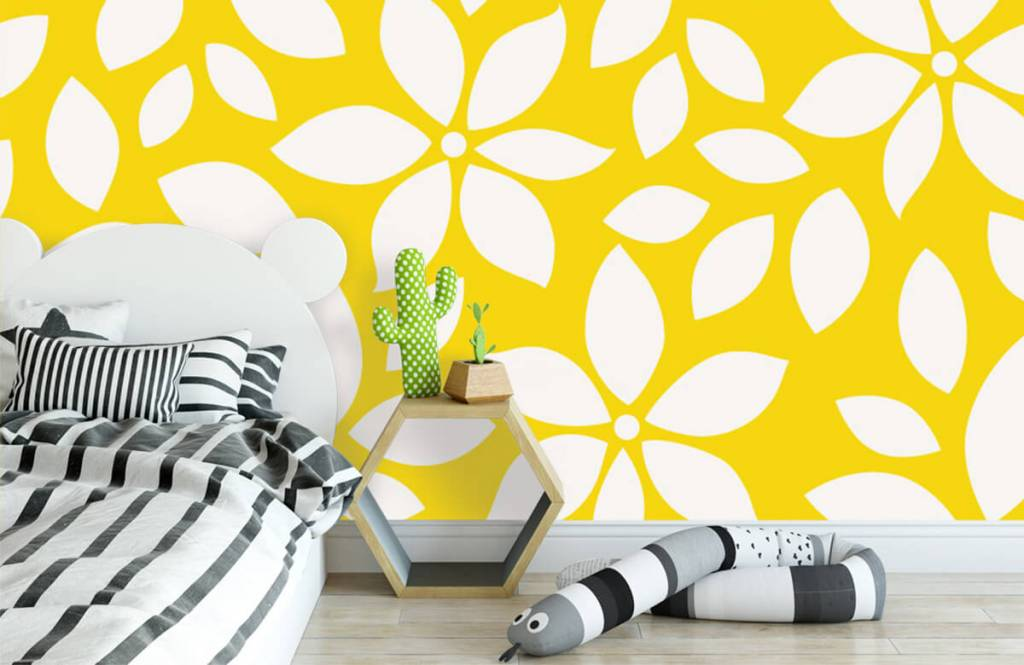 Other - Yellow flower pattern - Baby room 3