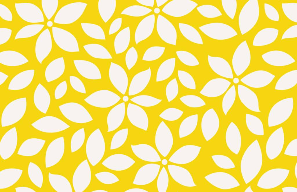 Other - Yellow flower pattern - Baby room 7