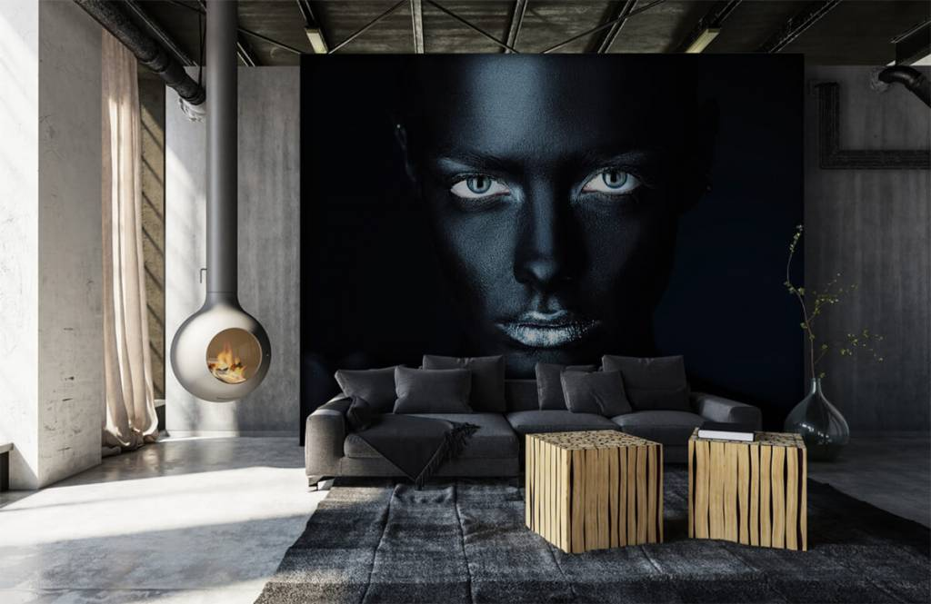 Portets and faces - Mysterious woman - Living room 1