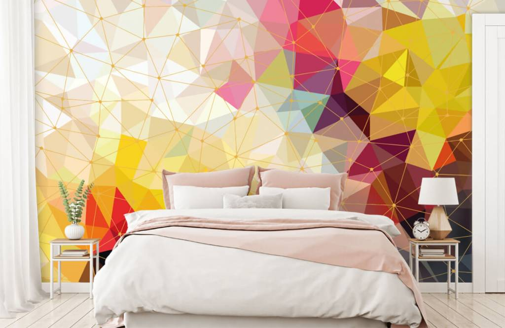 Other - Print of colorful triangles - Bedroom 4