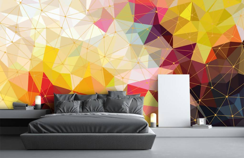 Other - Print of colorful triangles - Bedroom 5