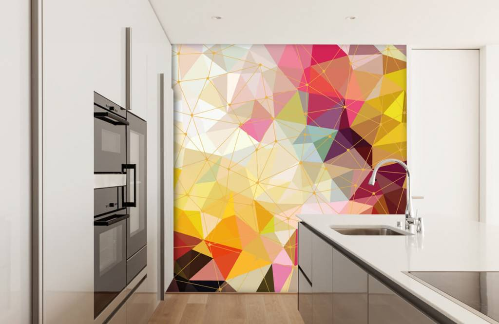 Other - Print of colorful triangles - Bedroom 6