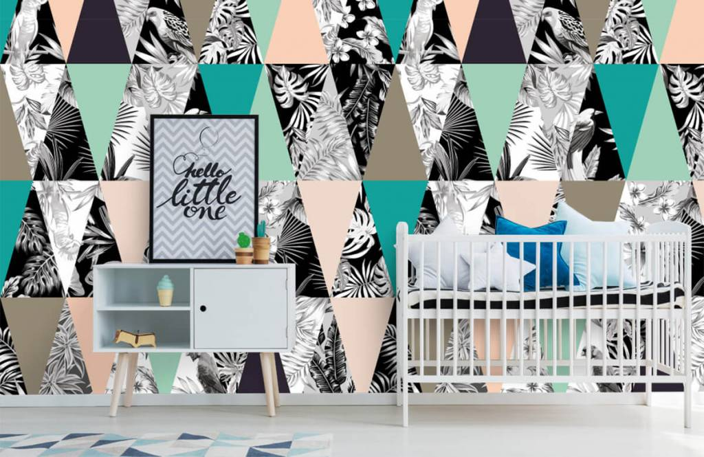 Other - Tropical pattern - Children's room 6