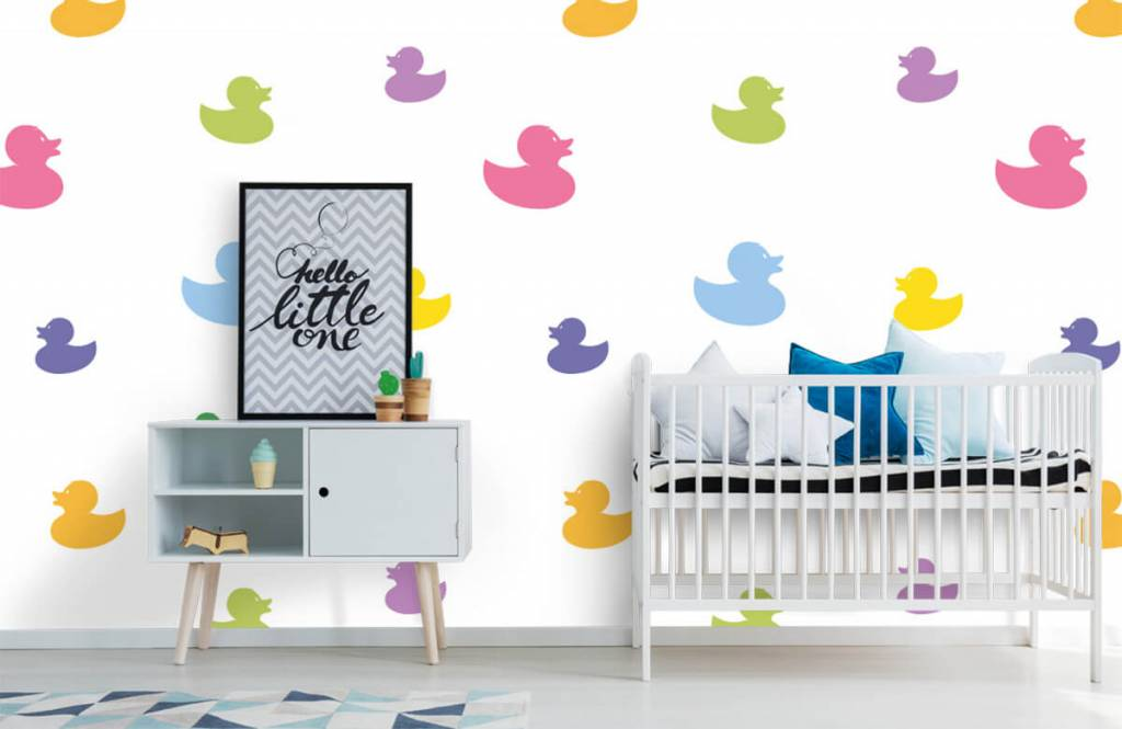 Other - Colored bath ducks - Baby room 1