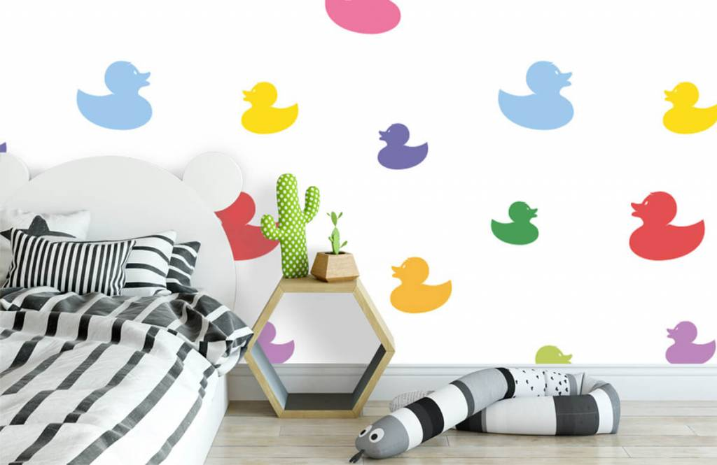 Other - Colored bath ducks - Baby room 3
