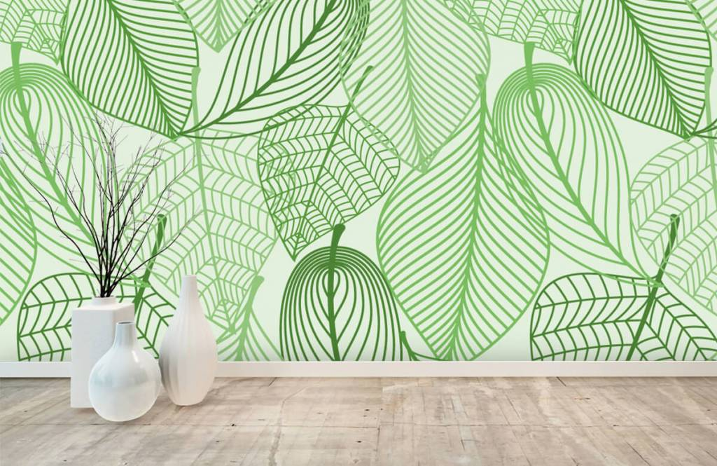 Other - Green leaves drawn - Bedroom 8