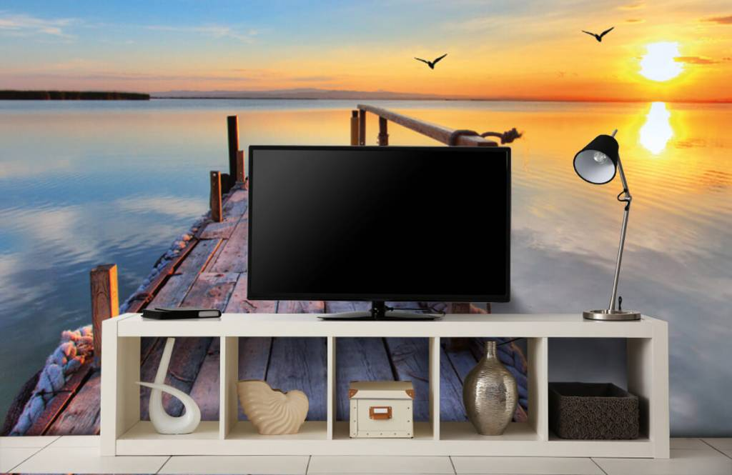 Lakes and Waters - Birds above the sea - Bedroom 5