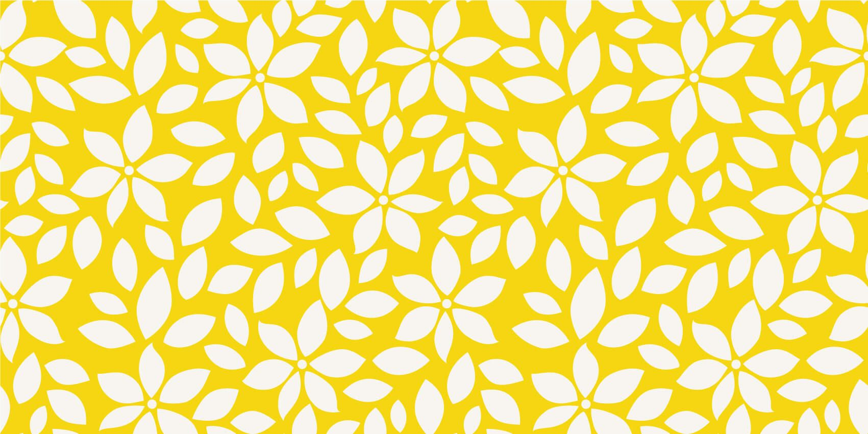 Other - Yellow flower pattern - Baby room
