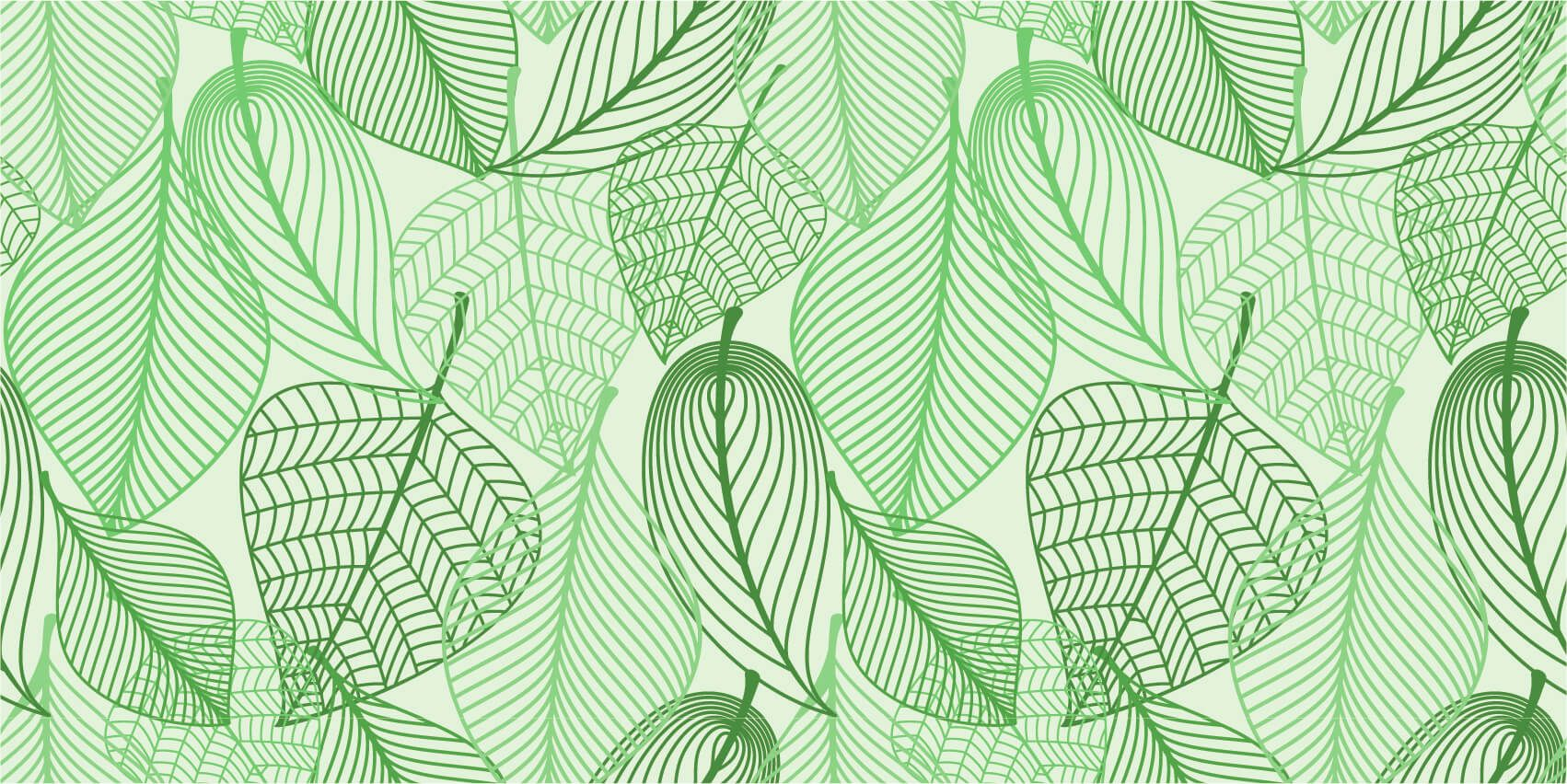 Other - Green leaves drawn - Bedroom