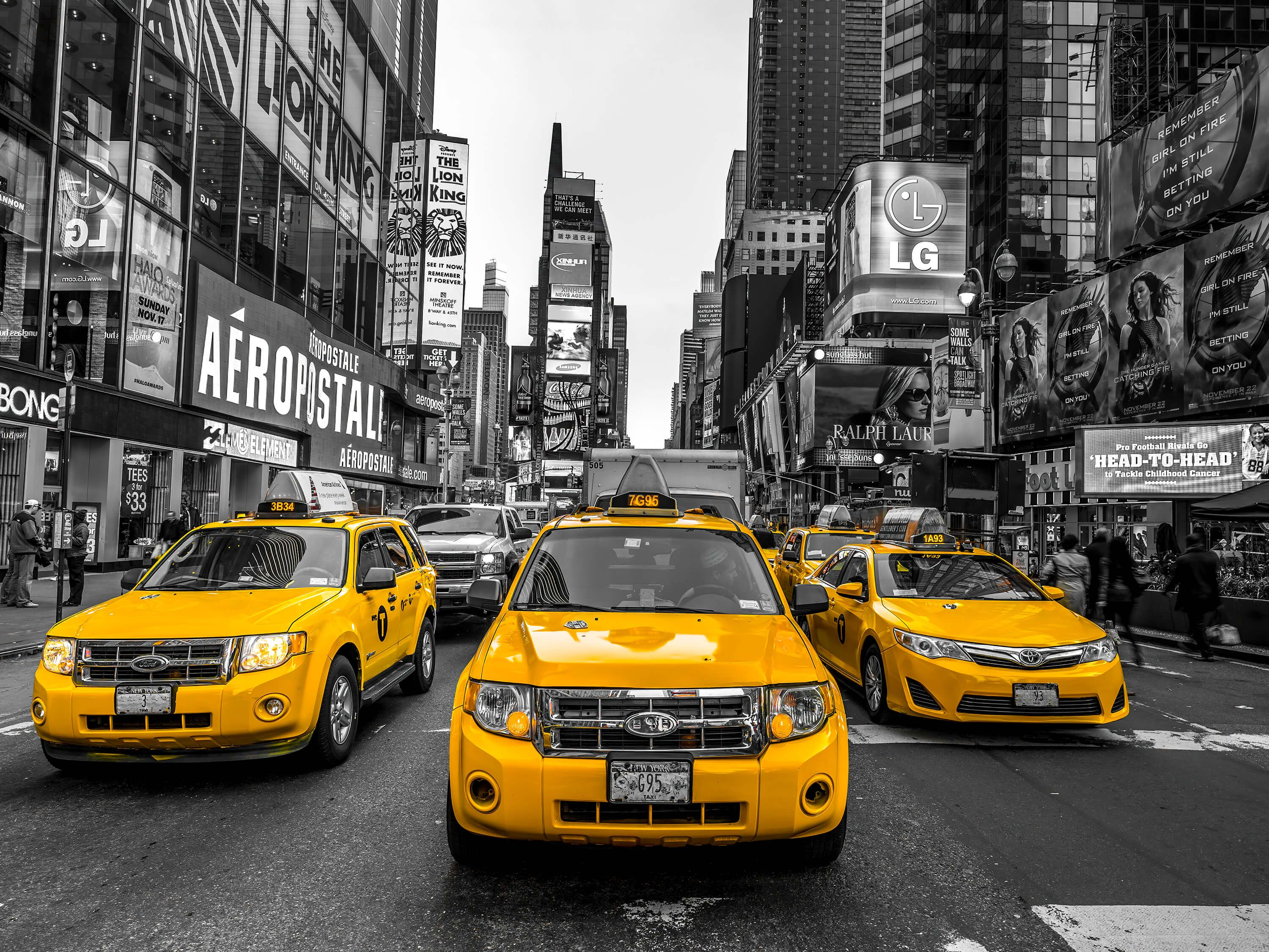 Taxi on Broadway