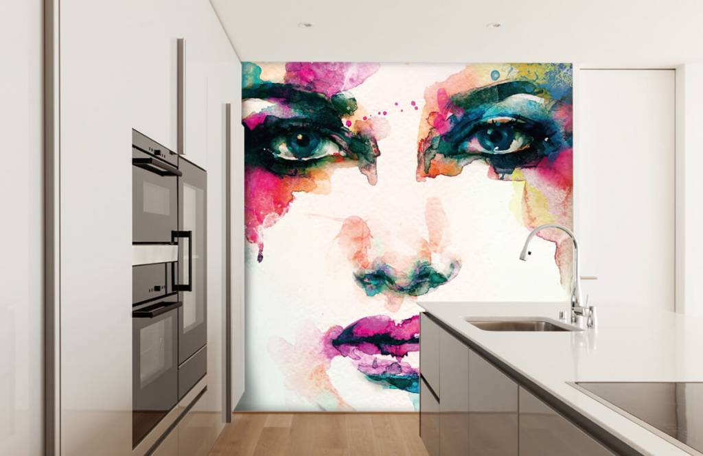 Portets and faces - Abstract head - Living room 8