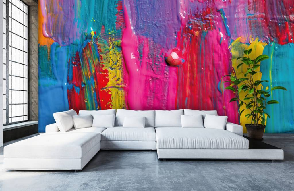 Modern - Colored paint - Conference room 6