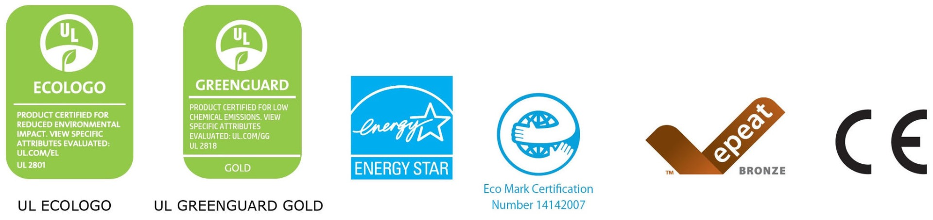 Labels for printing environmentally friendly photo wallpaper
